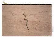 A Snake On The Dirt Carry-all Pouch