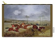A Steeplechase - Near The Finish Henry Thomas Alken Carry-all Pouch