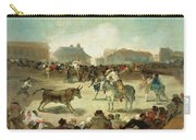A Village Bullfight Carry-all Pouch