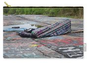 Abandoned Couch On The Graffiti Highway Carry-all Pouch