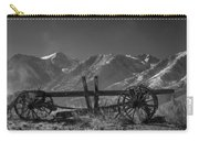Abandoned Wagon In The High Sierra Nevada Mountains Carry-all Pouch