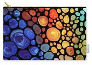 Abstract 1 Carry-all Pouch by Sharon Cummings