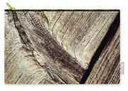 Abstract Detail Of A Wooden Old Board Carry-all Pouch