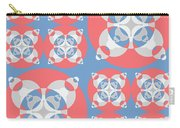 Abstract Mandala White, Pink And Blue Pattern For Home Decoration Carry-all Pouch