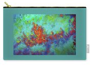 Abstract Pallet Oil Color Carry-all Pouch