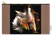 Abstract Peacock Carry-all Pouch