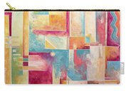 Abstract Pop Art Style Unique Pastel Painting Contemporary Art By Megan Duncanson Carry-all Pouch