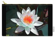 Abstract Waterlily Carry-all Pouch