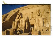 Abu Simbel Carry-all Pouch