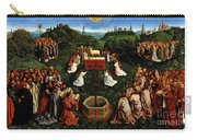 Adoration Of The Mystic Lamb Carry-all Pouch