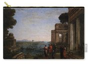 Aeneas Farewell To Dido In Carthago  Carry-all Pouch