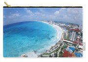 Aerial Of Cancun Carry-all Pouch