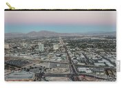 Aerial View Of Las Vegas City Carry-all Pouch