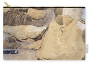 Aerial View Over The Sandpit. Industrial Place In Poland. Carry-all Pouch
