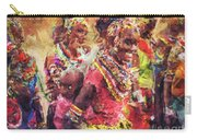 African Woman Carry-all Pouch