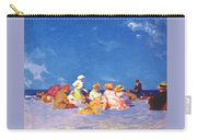 afternoon fun Edward Henry Potthast Carry-all Pouch
