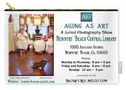 Aging As Art Exhibit Carry-all Pouch