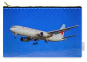 Air Canada Boeing 767 Art Carry-all Pouch