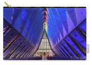 Air Force Academy Cadet Chapel Carry-all Pouch