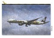 Air New Zealand Hobbit Boeing 777 Art Carry-all Pouch