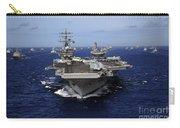 Aircraft Carrier Uss Ronald Reagan Carry-all Pouch