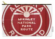 Alaska Railroad Aged Carry-all Pouch