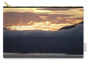 Alaskan Coast Sunset, View Towards Kosciusko Or Prince Of Wales  Carry-all Pouch