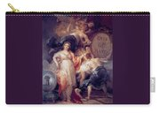Allegory Of The City Of Madrid Carry-all Pouch
