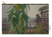 Allotment With Sunflower Paris, July 1887 Vincent Van Gogh 1853 - 1890 Carry-all Pouch