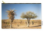 Aloe Vera Trees Botswana Africa Carry-all Pouch