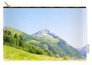 Alpine Mountain Peak Landscape. Carry-all Pouch