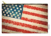 America Flag Carry-all Pouch by Setsiri Silapasuwanchai