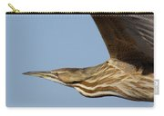 American Bittern Flies By Carry-all Pouch