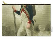American Continental Soldier Carry-all Pouch by Photo Researchers