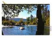 American River Through The Trees Carry-all Pouch