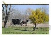 Amish Buggy Late Fall Carry-all Pouch