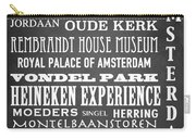 Amsterdam Famous Landmarks Carry-all Pouch