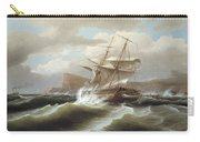 An American Ship In Distress Carry-all Pouch