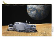 An Artists Depiction Of A Lunar Base Carry-all Pouch