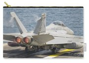An Fa-18f Super Hornet Taking Off Carry-all Pouch