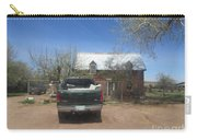 An Historical Concho House Carry-all Pouch