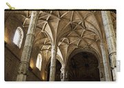 Lisbon Cathedral's Ancient Arches  Carry-all Pouch