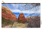Angels Landing Carry-all Pouch by Chad Dutson