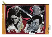 Angie Dickinson Robert Mitchum Pose Collage Young Billy Young Old Tucson Arizona 1968-2013 Carry-all Pouch