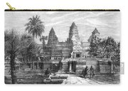 Angkor Wat, Cambodia, 1868 Carry-all Pouch