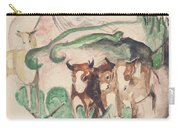 Animals In A Landscape Carry-all Pouch