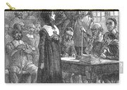 Anne Hutchinson (1591-1643) Carry-all Pouch by Granger