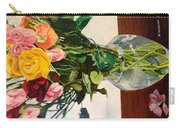 Anniversary Flowers  Carry-all Pouch