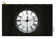 Antique Backlit Clock Carry-all Pouch