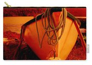 Antique Bow And Rope Carry-all Pouch